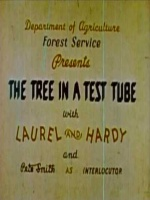 Plakat filmu Flip i Flap - Drzewo w probówce / The Tree in a Test Tube (1943) Lektor PL