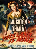Plakat filmu To jest mój kraj / This Land Is Mine (1943) Lektor PL