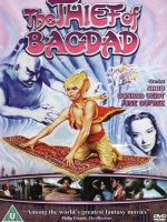 Plakat filmu Złodziej z Bagdadu / The Thief of Bagdad (1940) Lektor PL