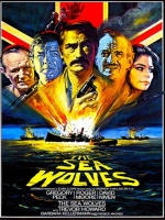 Plakat filmu Wilki morskie / The Sea Wolves (1980) Lektor PL