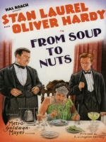 Plakat filmu Od zupy do deseru / From Soup to Nuts (1928) Napisy PL