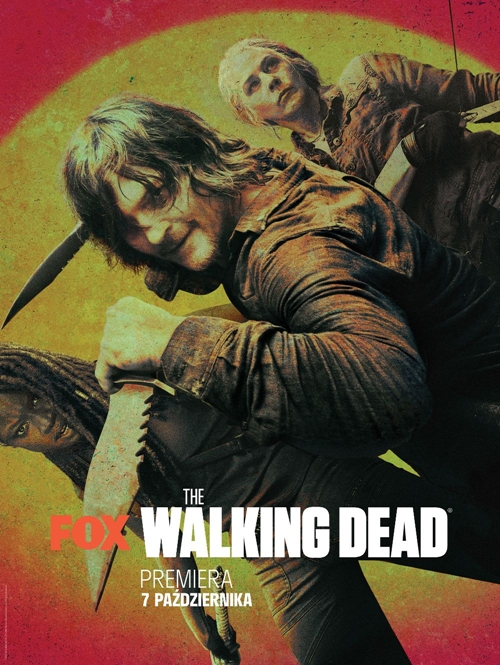 Plakat serialu The Walking Dead (2010-2012)